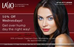 50% Off LASIO Keratin Treatments at LASIO Studios
