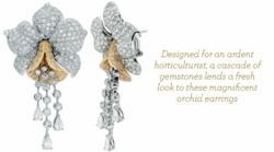 Man made diamond simulant jewelry, custom made jewelry