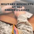 Online Class Military Discount