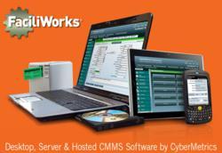 FaciliWorks CMMS Desktop, Server & Hosted Saas