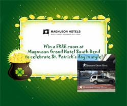 St. Patrick's Day at Magnuson Grand Hotel South Bend