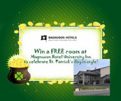 St. Patrick's Day weekend at the Magnuson Hotel University Inn in Marion