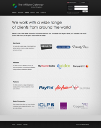 The Affiliate Gateway's clients