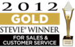 2012 Stevie Awards for Sales & Customer Service Gold