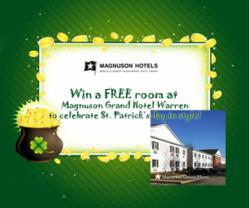 Free St. Patrick's Day at Magnuson Grand Hotel Warren