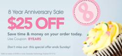 RestockIt.com 8 Year Anniversary Sale