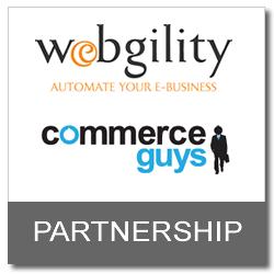 Webgility and Commerce Guys Partnership