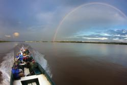 Cruise the Amazon on International Expeditions' sturdy excursion boats