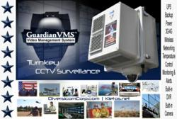 New Turnkey CCTV Surveillance Solution, GuardianVMS Web Based Industrial Enclosure with Complete Video Management System from Kletos Communications, Inc.