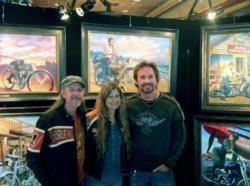 Meet and get autographs from David Uhl, Cris Sommer-Simmons & Pat Simmons at Daytona Bike Week