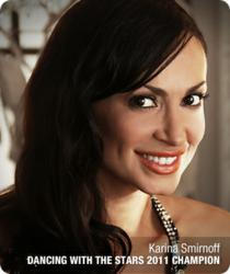 Ideal Image Laser Hair Removal Endorser and Guest Karina Smirnoff