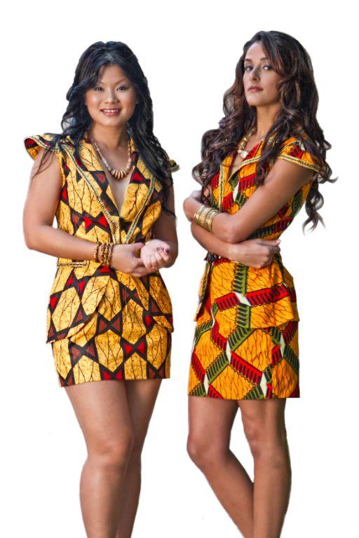 , ethnic wear, ethnic attire, Ankara dresses, wax print skirt suits