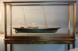 A magnificent model of the American Steam Yacht Corsair 1890