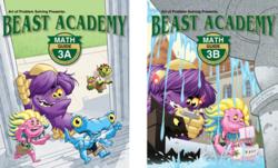 Beast Academy covers