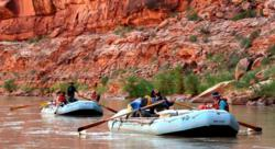 Rafting in Utah's Canyon County