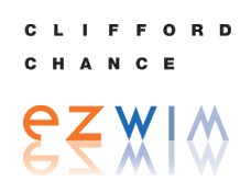 Clifford Chance and Ezwim logos