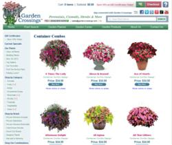 Container Combinations from Garden Crossings