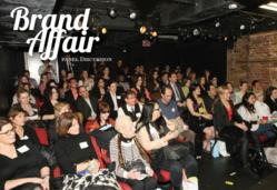 A view of the SOLD OUT crowd at the Designer Showcase Brand Affair Seminar