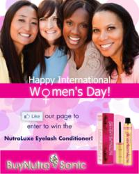 BuyNutraSonic Celebrates International Womens Day