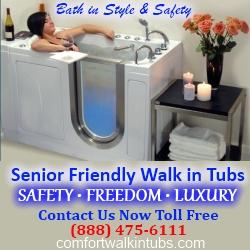 Premium Acrylic Walk in Bathtubs