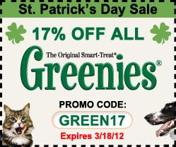 Greenies Sale