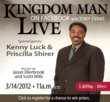 Kingdom Man Live is a March 14 webcast with Dr. Tony Evans. Learn more at Facebook.com/LifeWayMen.