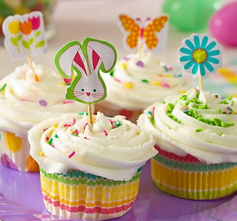 Decorating easter cupcakes ideas interior home design for Cute cupcake decorating ideas for easter