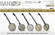 Banjos Direct website