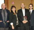 Bob Grande Accepts Business Leadership Award from Santee Chamber Dignataries