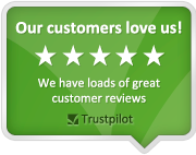 TrustPilot, a fantastic independant way of soliciting feedback from our customers.