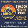 Truly Unique International Songwriting Contest Offers Unmatched...