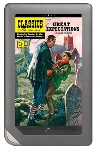 Trajectory Inc Launches Classics Illustrated Now