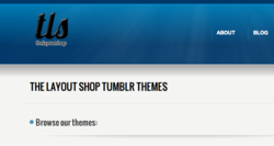 best tumblr themes, layout shop