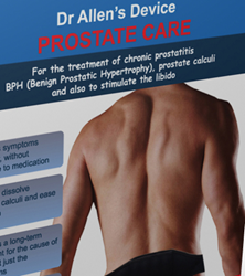 Dr. Allen's Device for Prostate Care is highly effective for the treatment of prostate enlargement (BPH).