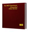 In 2004, BKD published The BKD Experience:  Unmatched Client Service to communicate the firm's guiding philosophy to clients and employees.  The hardbound book highlights the five standards of unmatched client service:  Integrity First, True Expertise, Professional Demeanor, Responsive Reliability and Principled Innovation.