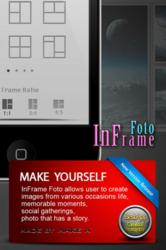 InFrame Foto allows you to create thousands of picture frames for your photos