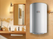 What is the proper temperature for a water heater?