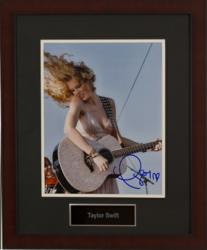 Signed Taylor Swift photograph from Charity Fundraising Packages