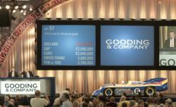 The 1973 Porsche 917/30 Can-Am Spyder sold for $4.4 million at Gooding & Company's $36 million Amelia Island Auction on March 9, setting a double record for a Porsche and a 917 at Auction. Image copyright and courtesy of Gooding & Company.  Photo by Pawel Litwinski.