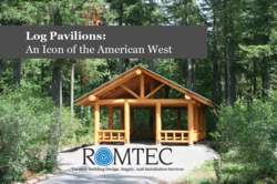 Romtec, Inc. Log Pavilion