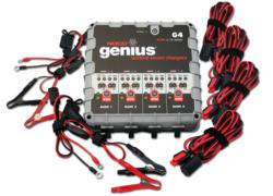 NOCO Genius G4 Multi-Bank Battery Charger