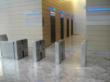 Fastlane Plus optical turnstiles secure NYC office tower