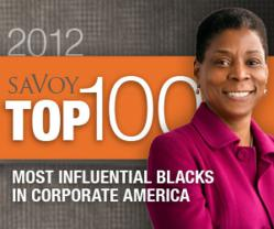 Savoy Top 100 Most Influential Blacks in Corporate America