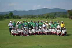 Golfasian's Thailand Golf Week golfers at Chiang Mai Highlands Golf and Spa