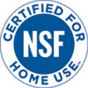 NSF Certified for Home Use Mark