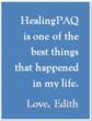 healingPAQ Client Testimonial and experience with Self-Healing tele-class.
