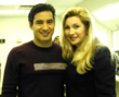 Mario Lopez of Extra with Cheryl Shuman, CEO of Green Asset International Inc.