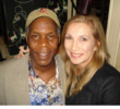 Danny Glover, Actor & Activist with Cheryl Shuman, CEO of Green Asset International Inc.