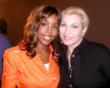 Kelly Rowland with Cheryl Shuman, CEO of Green Asset International Inc.