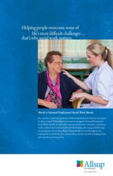 National Professional Social Work Month – March 2012